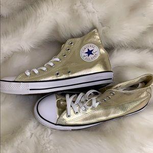Converse One star Chuck Taylor GOLD Tennis shoe